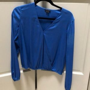 Gorgeous blue theory blouse.